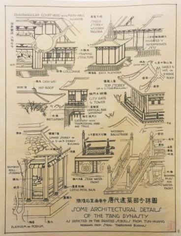 唐代建筑部分详图