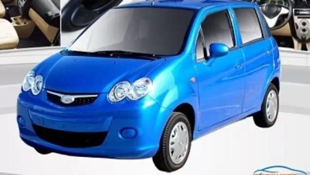 电动汽车怎么样?售价4万左右的唐骏电动汽车在低速电动车领高清图片