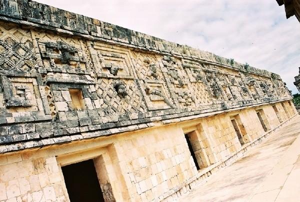 墨西哥-乌斯马尔金字塔-胶片一组