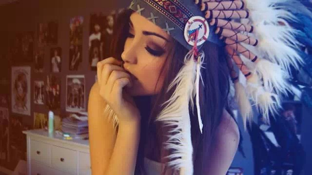 如今的印第安美女1