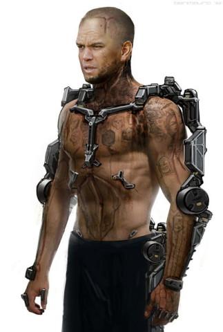 机械外骨骼设计图展示图片