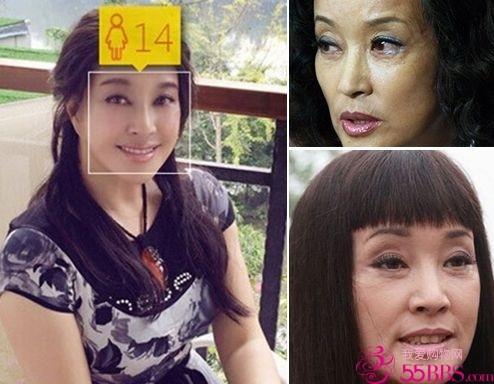 比赵雅芝,刘晓庆还略大几岁