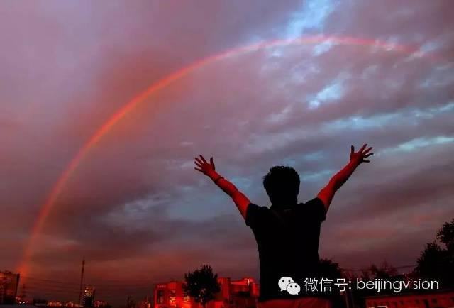 经历风雨方见彩虹-影像北京-视觉资讯