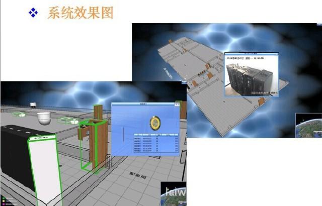 四川快速机房接线图
