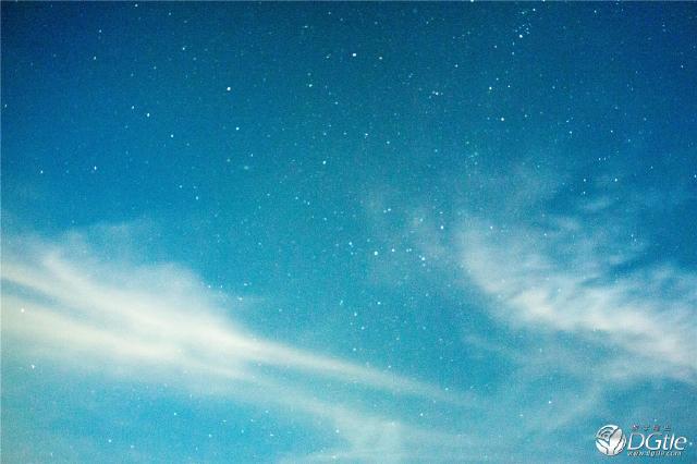 海边星空爱情手绘图