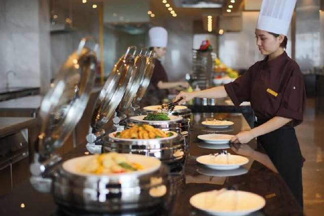青岛北海宾馆自助餐