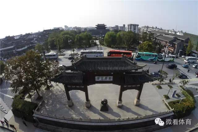 重访大运河 航拍大运河扬州段