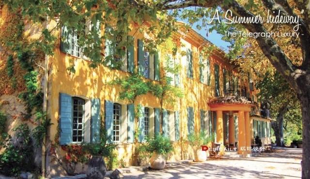 醉美的法国普罗旺斯梦境般的庄园酒店【环球设计593