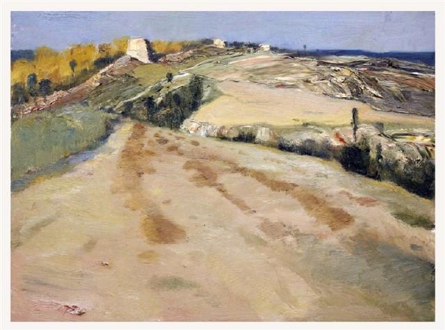 白羽平风景油画作品欣赏