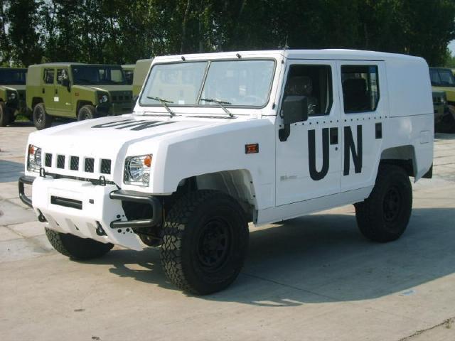 国产新款勇士越野车定型,外形硬朗很像奔驰g!