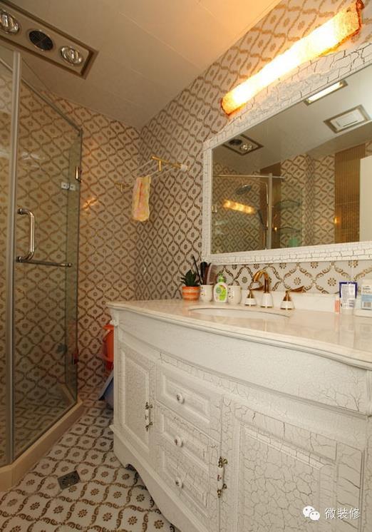 小户型装修案例 122平米三室两厅欧式风格装修案例