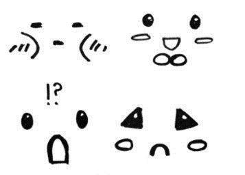 来教你画俏皮可爱的人物表情简笔画
