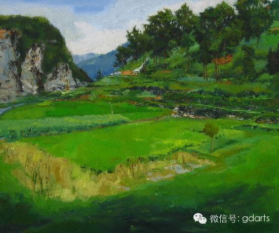 """长沙 群展: 2008 """"曲湘建师生油画风景写生作品展"""" 三亩地美术馆 长沙"""