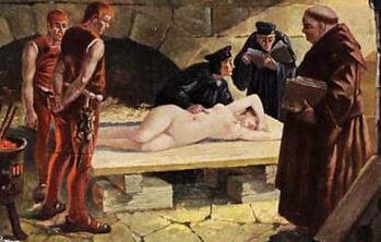 古代女囚的悲惨遭遇 残忍酷刑令其生不如死图片