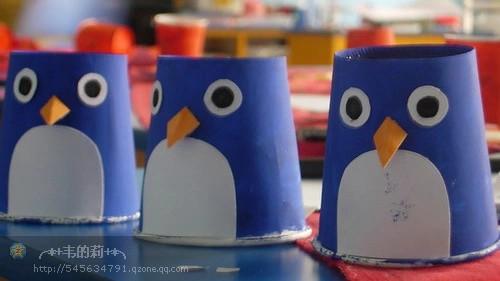 创意手工--纸杯变动物,会不会啊?