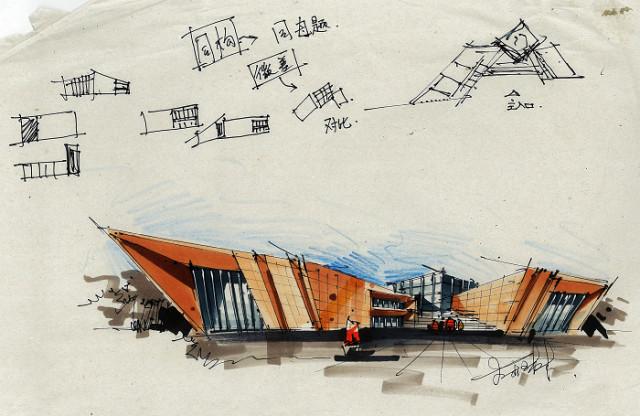 求解》荣获国际建筑设计大赛一等奖;作品《多元意识场--图书馆设计》