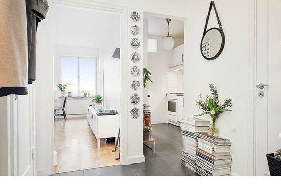 个性又文艺十足的北欧风格白色调室内设计欣赏