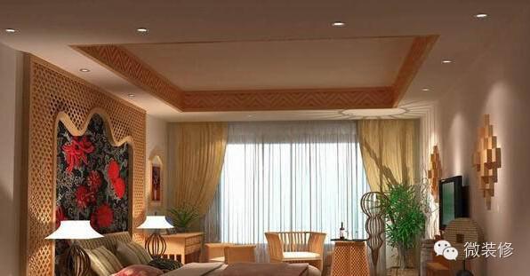 卧室装修效果图欣赏 60张卧室设计原则与要点    现代住宅