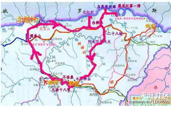 哈尔滨到漠河约需要20个小时,于是决定火车去漠河,为节约时间,飞机从