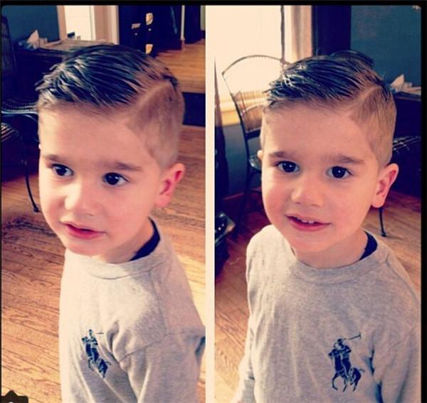 男宝宝可爱发型分享展示