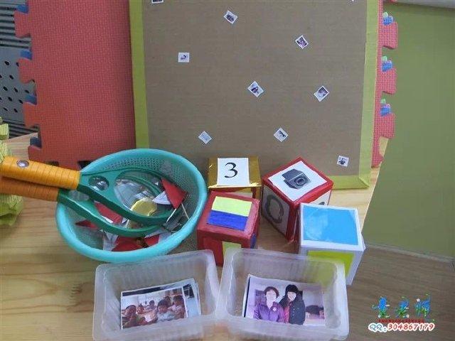 幼儿园教师区角活动操作材料展