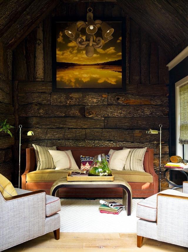背景墙的奇思妙想 木头?石头?墙纸?