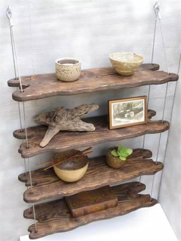 【朽木】捡几根木头,搁在家里是什么效果?-工业设计