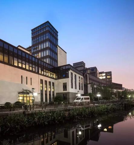 新中式风格养老院——上海西郊协和颐养院是三益中国旗下上海三益建筑图片