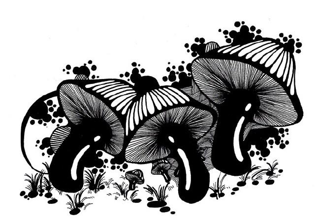 中国风黑白装饰画毕业设计作品-爱财经网