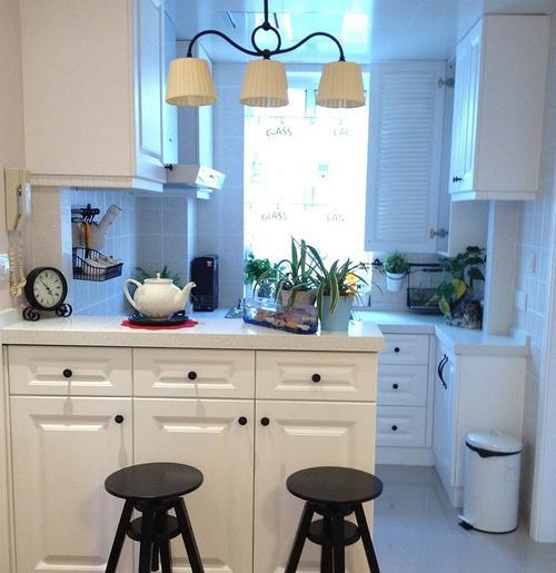 厨房中岛吧台升降水龙头