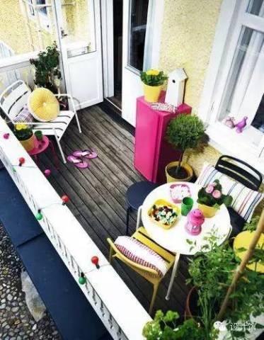 阳台外置花槽设计图片