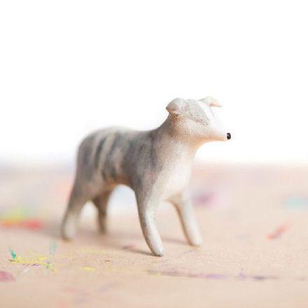 一波萌萌的手作小动物模型设计图片-小清新-视觉资讯