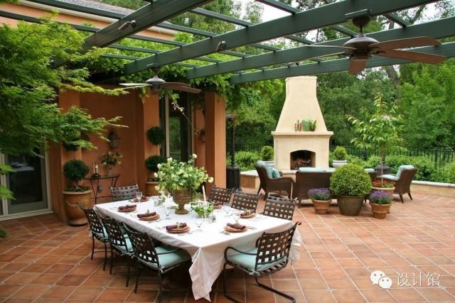 自建房的福利,创意的楼顶花园设计案例