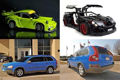 lego汽车配真实发动机,volvo可以试驾的呦