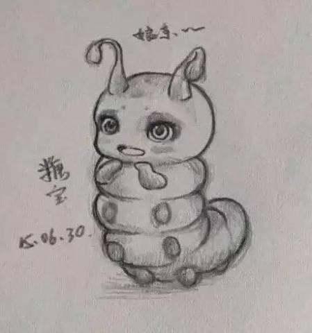 【全民晒图】花千骨人物手绘图,简直是太有才了!