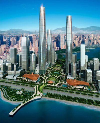 深圳湾超级总部核心区(即云城市中心)的建设将为你开启深圳未来的模样