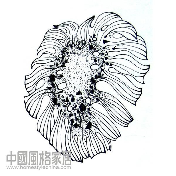 黑白灵韵——浅谈染织图案设计基础