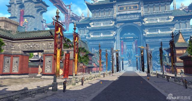 0 萌系dota2 卡通风格英雄图赏 0 把酒言欢 剑灵江流市秀美街景组图 0
