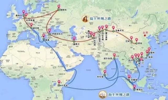 """""""一带一路""""有利于加强中国与周边国家的交流交往"""