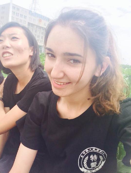【看图】新疆反恐美女特警:我不是花瓶