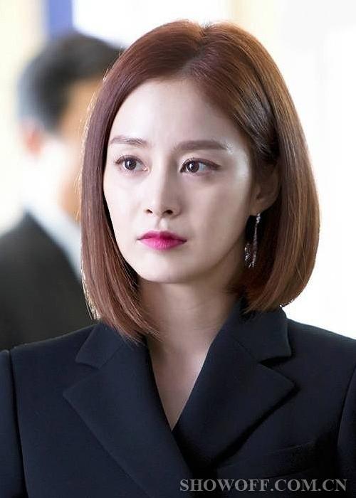 韩国女星短发