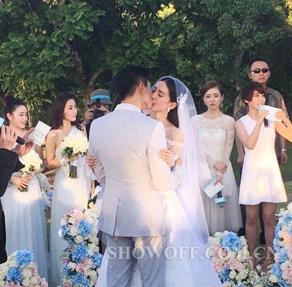 刘诗诗吴奇隆大婚 刘诗诗美得不要不要的图片