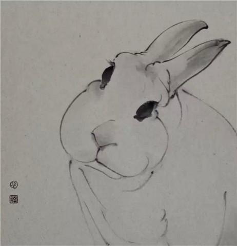 2014年,作品《净土》,《千纸鹤》发表于《中华书画家》杂志2014年