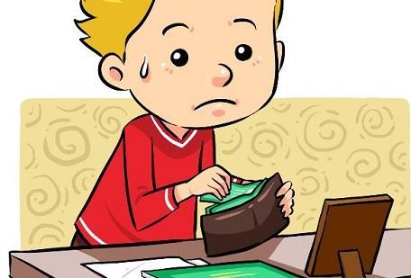卡通小人吃饭图片
